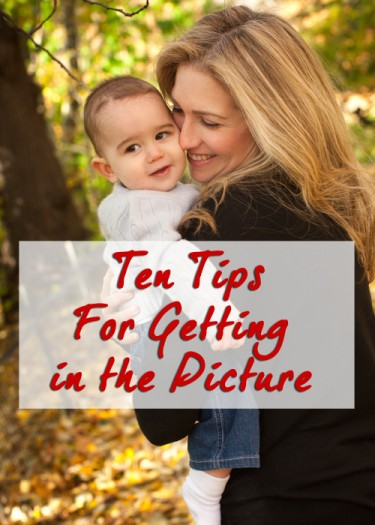 Tips for Getting Yourself in the Photo